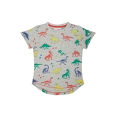 mothercare 灰色恐龍短袖T-小島系列(M0SC240)3~4歲、6~8歲