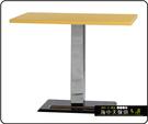 {{ 海中天休閒傢俱廣場 }} C-99 摩登時尚 餐廳系列 444-64 2X3.5尺美耐板餐桌/電鍍腳(顏色可挑選)