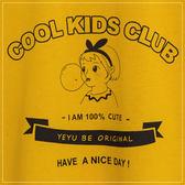 T恤  100%CUTE吹泡泡滾邊棉T  二色-小C館日系