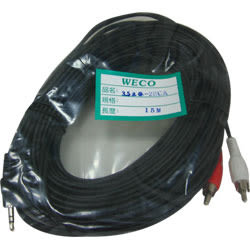 WECO 3.5ST公-2RCA公 15M