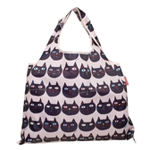 【日本PrairieDog】環保隨身設計包 - 貓臉