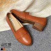 紳士鞋 簡約皮帶尖頭休閒鞋- 山打努SANDARU【107B532#46】