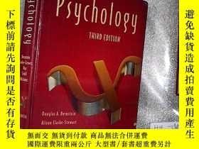 二手書博民逛書店psychology罕見THIRD EDITION 心理學第三版
