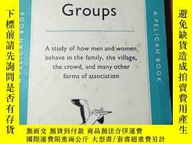 二手書博民逛書店HUMAN罕見GROUPS BY W.J.H.SPROTTY27