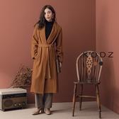 東京著衣【KODZ】韓國姐姐綁帶長版大衣外套-S.M.L(172069)