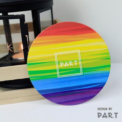 《T-STUDIO拉拉購物網》PAR.T彩虹商品/吸水防滑杯墊/調色盤