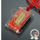 大悲咒(金紅)附紅繩項鍊 + 平安小佛卡【十方佛教文物】