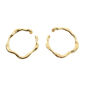 Dior 迪奧 18K金玫瑰花莖造型針式耳環 Bois de Rose Earrings 【BRAND OFF】