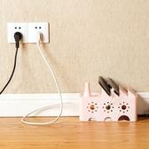 置物盒 鏤空電線整理盒 桌面整理 散熱 集線盒 電源線盒 電視電腦 插座【PMG812】收納女王