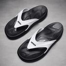 拖鞋男夏季防滑外穿涼鞋個性室外涼拖韓版潮流軟底沙灘夾腳人字拖