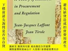 二手書博民逛書店A罕見Theory Of Incentives In Procurement And RegulationY2