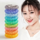 髮箍 髮圈 綁髮 韓版超透明 高彈力髮圈 髮繩 手環 彈簧髮圈