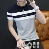 2020新款帥氣短衣服男士短袖T恤丅桖夏季純棉半截半袖短衫體血土 (pinkQ 時尚女裝)