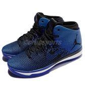 【五折特賣】Nike 籃球鞋 Air Jordan XXXI 31 BG Royal 黑 藍 AJ31 女鞋 大童鞋【PUMP306】848629-007