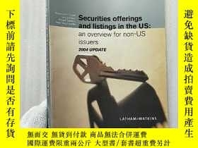 二手書博民逛書店Securities罕見offerings and listin