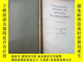 二手書博民逛書店Operational罕見Methods in Applied