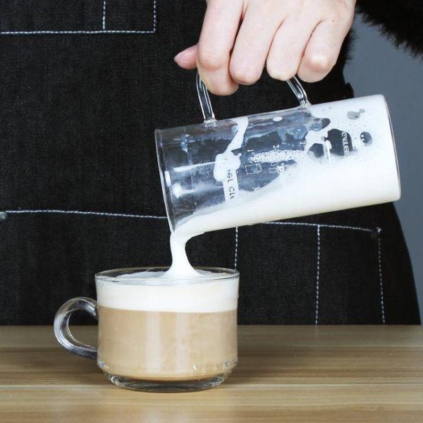 啡憶打奶泡器 家用電動打奶器 小型牛奶打泡機 自動攪拌杯奶泡壺 夢想生活家