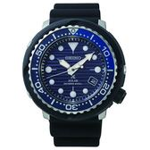 SEIKO PROSPEX  太陽能200米潛水橡膠腕錶  V157-0CX0A(SNE518P1)藍X黑