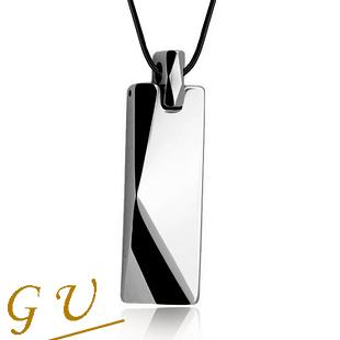 【GU】W15 生日禮物 男 鋼鍊鎢鋼項鍊 男 鈦鋼項鍊 GresUnic Agloce 烏玄項鍊