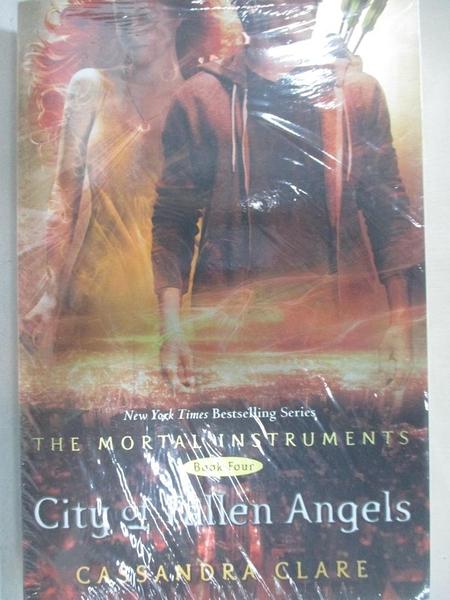 【書寶二手書T7/原文小說_JL8】City of Fallen Angels_Cassandra Clare