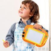 兒童畫板磁性寫字板寶寶家用畫畫板小孩幼兒彩色磁力可塗鴉板  聖誕節快樂購