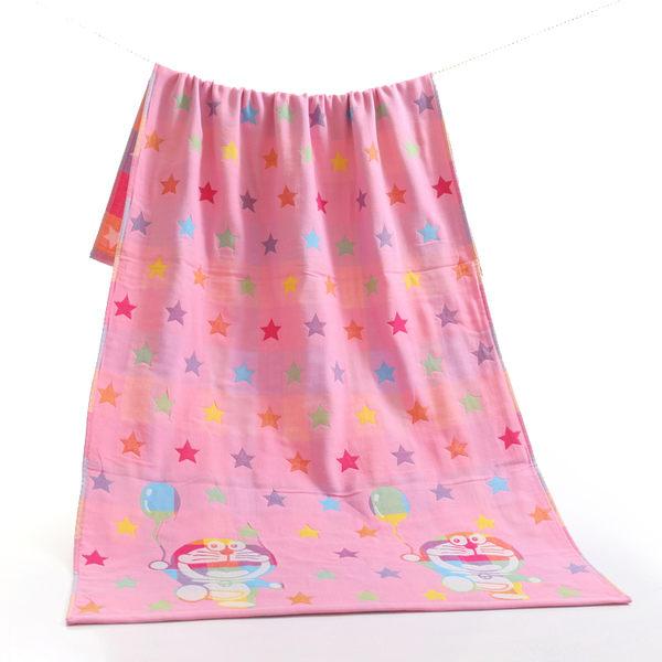 蟈蟈家紡棉質三層紗布成人女全棉浴巾柔軟超強吸水蓋毯兒童大浴巾【618好康又一發】
