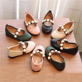 兒童鞋子童鞋女童單鞋公主鞋豆豆鞋