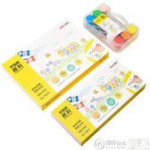 顏料 鋼筆 得力兒童手指畫顏料環保可水洗繪畫套裝寶寶涂鴉水彩水粉畫畫顏料   居優佳品igo