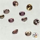 金黃 碧璽 寶石 2-2.5mm 1顆【十方佛教文物】