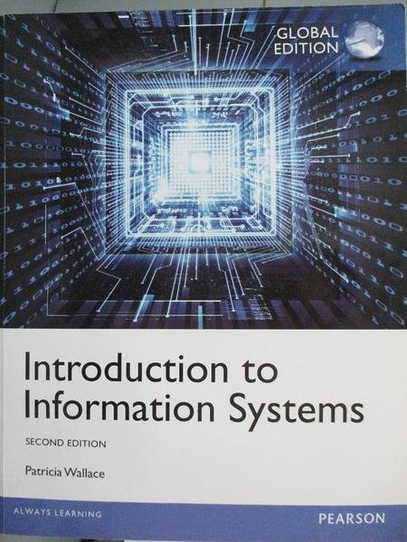 【書寶二手書T4/大學資訊_YBK】Introduction to information systems_Patric