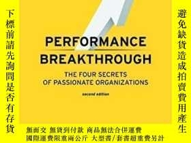 二手書博民逛書店Performance罕見Breakthrough: The Four Secrets Of Passionate