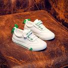 兒童帆布鞋男童童鞋女童新款年秋季新款正韓寶寶小童布鞋小白板鞋
