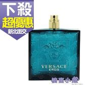 Versace EROS 凡賽斯 艾諾斯.情緣 男性淡香水 100ML TESTER 白盒無蓋