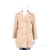 BLUGIRL 膚色排釦羊毛大衣 1540654-32