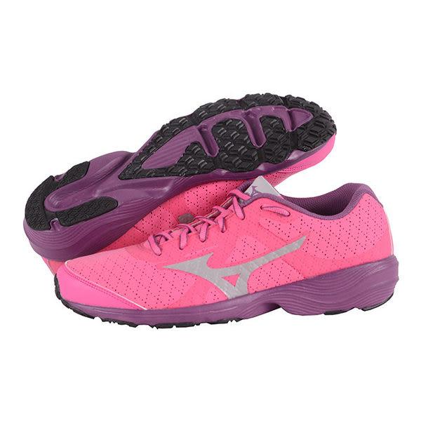 MIZUNO 美津濃PRIMA BEAT AW(W) 女慢跑鞋(粉紅x銀)仿毛皮休閒慢跑鞋款2014新款【網路獨賣】