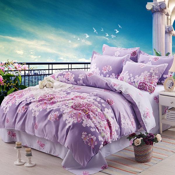 簡約純色床上用品四件套卡通宿舍1.2m床單式雙人被套1.5米4三件套SSJJG【時尚家居館】