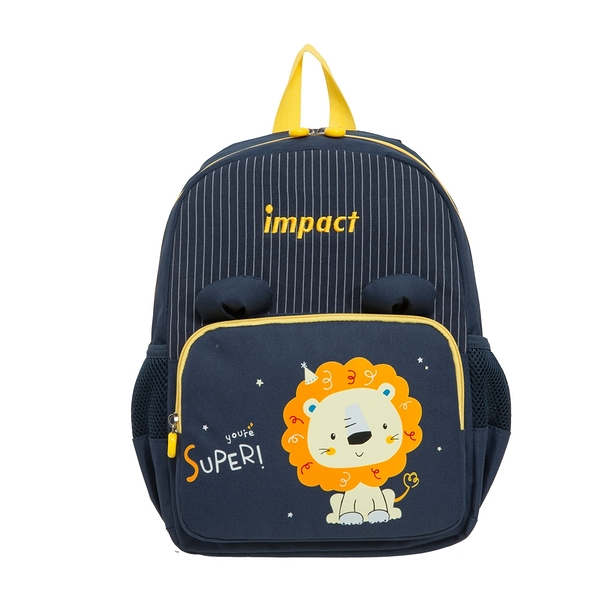 【IMPACT】獅子-後背包(中)-深藍色 IMQ0001NY