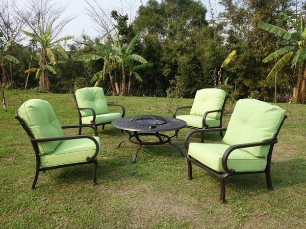 【南洋風休閒傢俱】戶外休閒桌椅系列-鋁合金沙發椅組 絕版品 (非冰盆款)(#355-A B C )