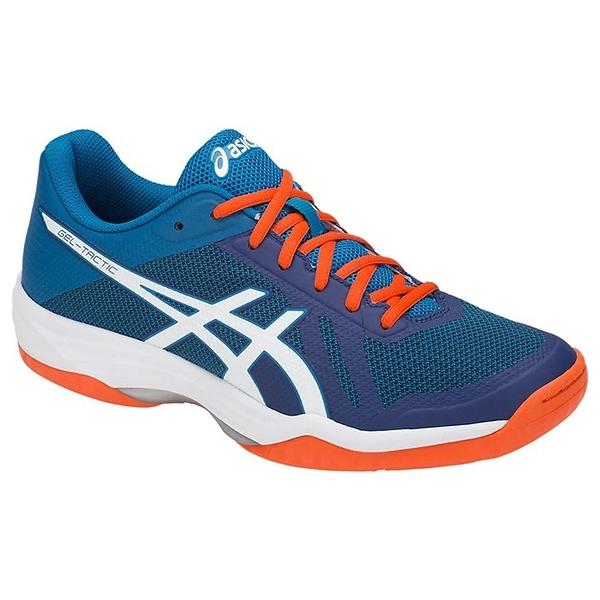 樂買網 ASICS 18FW 進階款 男排球鞋 TACTIC系列 B702N-401 贈護膝