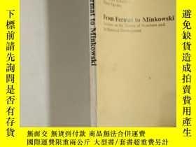 二手書博民逛書店From罕見Fermat to Minkowski常見術語和短語