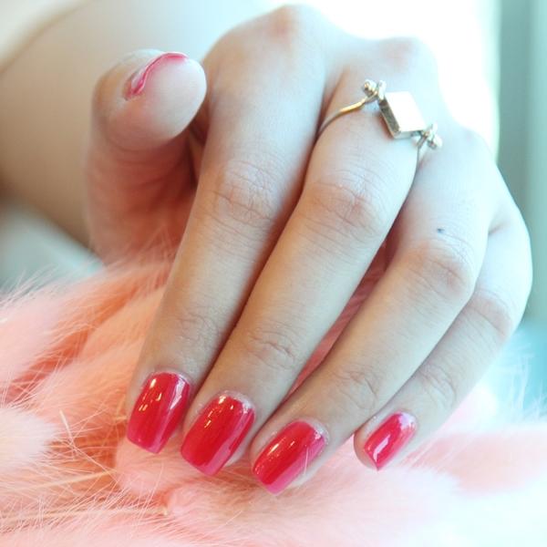 Miss BOBO水性可剝持色指彩 珠光釉紅
