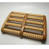 全實木家用滾輪式腿部木質按摩穴位搓排木制腳底按摩器足底按摩器 全館免運