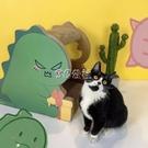貓抓板貓窩耐磨多功能盒子一體磨爪器瓦楞紙不掉屑貓玩具貓咪用品