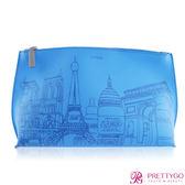 LA MER 海洋拉娜 限量城市化妝包-PARIS(23.5X7X14.5cm)【美麗購】