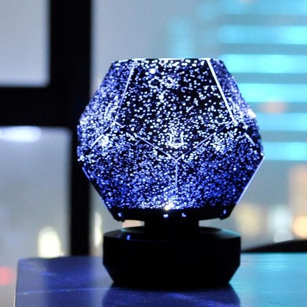 投影燈 星空燈投影儀滿天星臥室房間浪漫旋轉裝飾燈創意情人節生日禮物 韓菲兒
