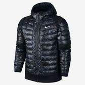 Nike AS NIKE KD HYBRID DOWN JKT 男裝 外套 羽絨 連帽 黑 【運動世界】 807998-021