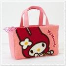 小花花日本精品♥ Hello Kitty 手提袋 手提包 迷你提袋 刺繡提袋(粉) 42083900