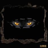 車貼 汽車貼紙劃痕遮擋車身貼個性裝飾反光貓眼睛擦刮痕防水貼新品