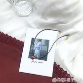 日繫原宿chic紅色愛心項圈女韓國氣質可愛百搭項鏈鎖骨鏈飾品741 橙子精品
