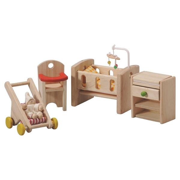 《 泰國 PLAN TOYS 》典藏娃娃屋-嬰兒房 / JOYBUS玩具百貨
